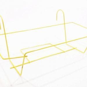 Стойка за сандъче жълто 50 см на промо цена, с отстъпка и мнения, ревюта, препоръки и отзиви от saksiika.com