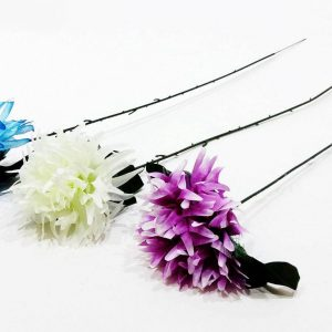 Изкуствено цвете Божур в синьо, бяло или лилаво 60см на Промо Цена с Бърза Доставка, Мнения, Препоръки, Клиентски Ревюта и Отзиви от Saksiika.com