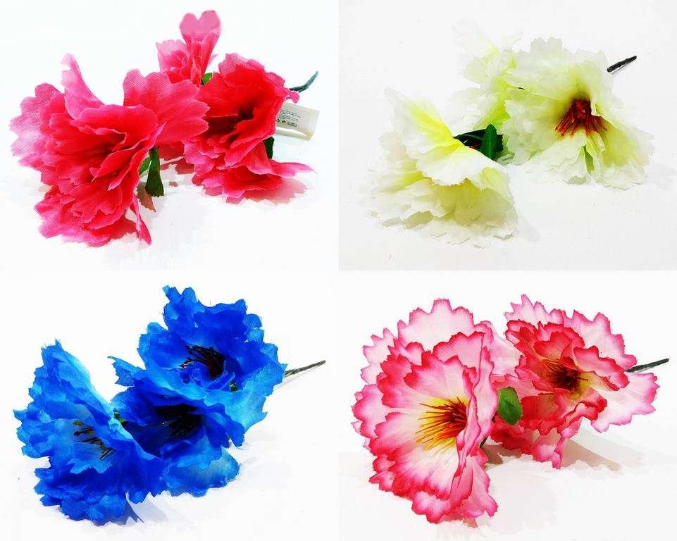Изкуствено цвете 3-ка Маргаритки в четири цвята на Промо Цена с Бърза Доставка, Мнения, Препоръки, Клиентски Ревюта и Отзиви от Saksiika.com