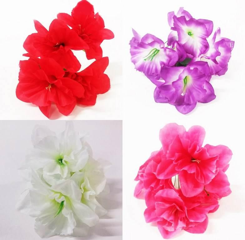 Изкуствено цвете 5-ца в четири цвята на Промо Цена с Бърза Доставка, Мнения, Препоръки, Клиентски Ревюта и Отзиви от Saksiika.com