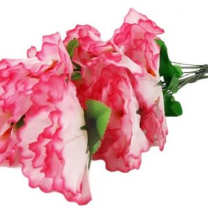 Изкуствено цвете Карамфил 5-ца в два цвята на Промо Цена с Бърза Доставка, Мнения, Препоръки, Клиентски Ревюта и Отзиви от Saksiika.com