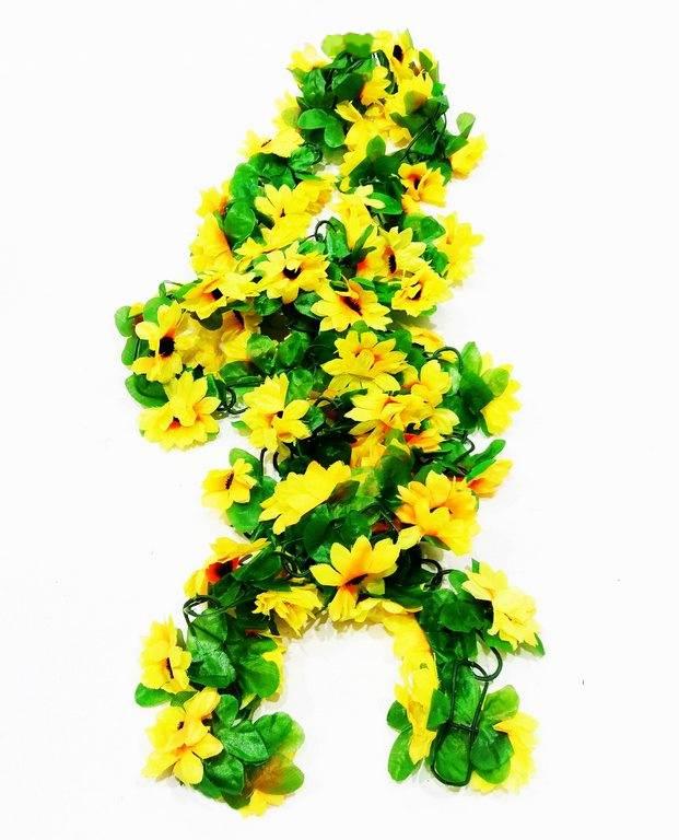 Изкуствено цвете/лиана с 72 броя цветя 2,1 метра на Промо Цена с Бърза Доставка, Мнения, Препоръки, Клиентски Ревюта и Отзиви от Saksiika.com