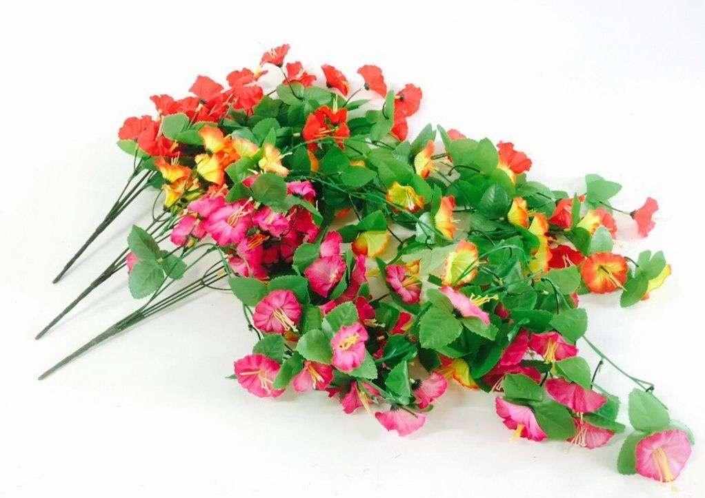 Изкуствено цвете/лиана за ъгъл с 45 броя цветя на Промо Цена с Бърза Доставка, Мнения, Препоръки, Клиентски Ревюта и Отзиви от Saksiika.com