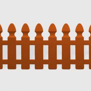 Декоративна оградка за градина от пвц в цвят керемида 2м KOV НА ПРОМО ЦЕНА В ОТСТЪПКА С МНЕНИЯ, РЕВЮТА, ОТЗИВИ И ПРЕПОРЪКИ от Saksiika.com