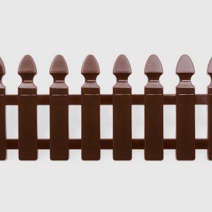 декоративна оградка за градина от пвц в тъмно кафяв цвят 2м KOV НА ПРОМО ЦЕНА В ОТСТЪПКА С МНЕНИЯ, РЕВЮТА, ОТЗИВИ И ПРЕПОРЪКИ от Saksiika.com