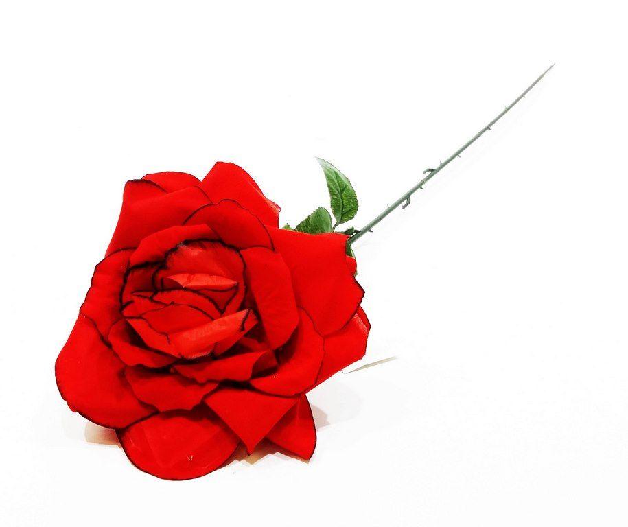 Изкуствено цвете Разцъфнала роза 65 см на Промо Цена с Бърза Доставка, Мнения, Препоръки, Клиентски Ревюта и Отзиви от Saksiika.com