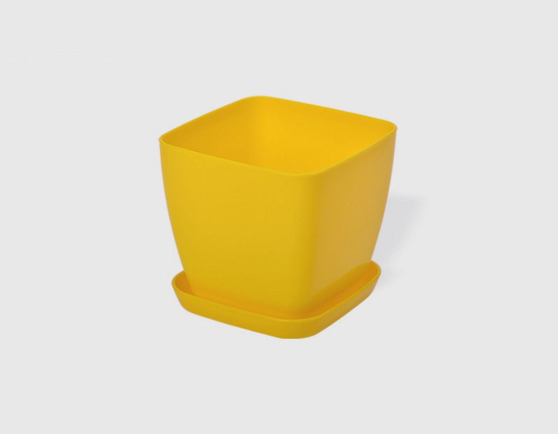 Саксия в жълт цвят Flora гланц 13 x 13см НА ПРОМО ЦЕНА В ОТСТЪПКА С МНЕНИЯ, РЕВЮТА, ОТЗИВИ И ПРЕПОРЪКИ от Saksiika.com