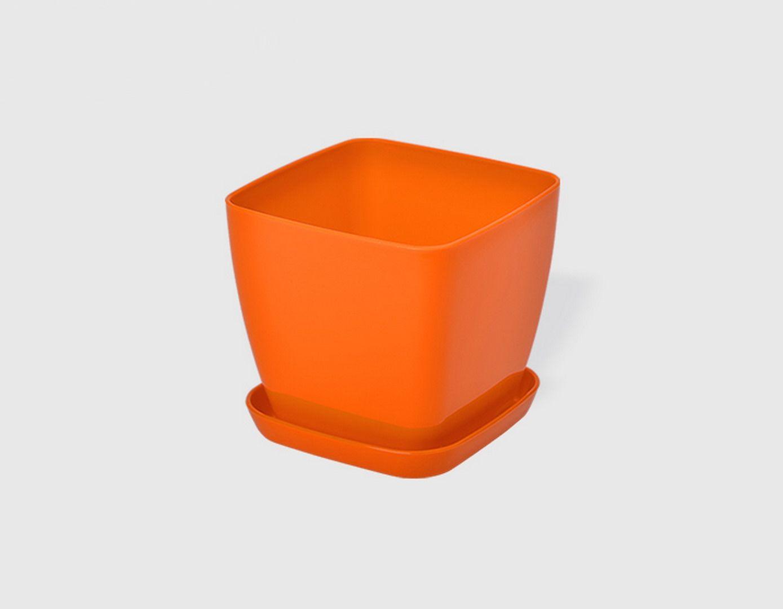 Саксия в оранжев цвят Flora гланц 13 x 13см НА ПРОМО ЦЕНА В ОТСТЪПКА С МНЕНИЯ, РЕВЮТА, ОТЗИВИ И ПРЕПОРЪКИ от Saksiika.com