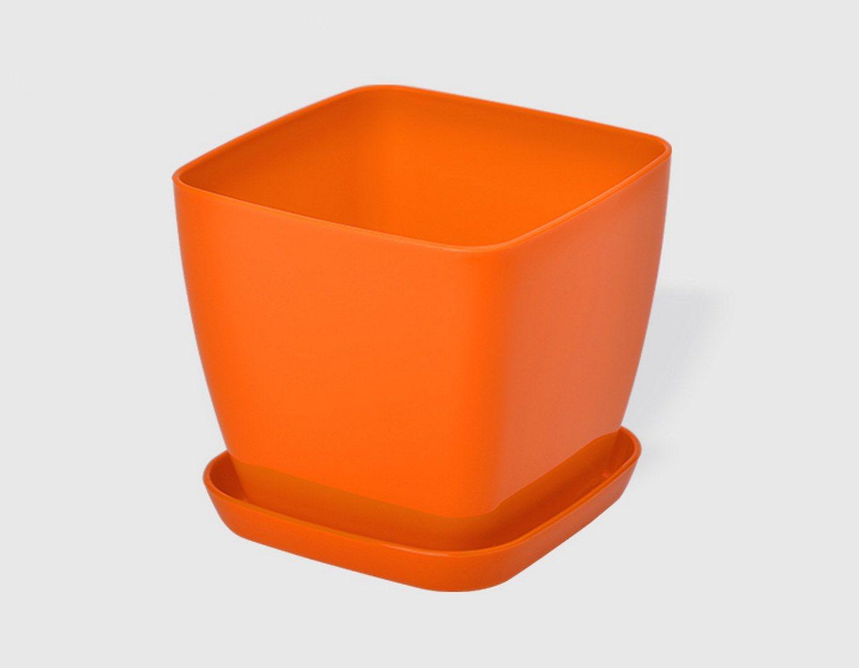 Саксия в оранжев цвят Flora гланц 21 x 21см НА ПРОМО ЦЕНА В ОТСТЪПКА С МНЕНИЯ, РЕВЮТА, ОТЗИВИ И ПРЕПОРЪКИ от Saksiika.com
