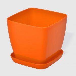 Саксия в оранжев цвят Flora гланц 25 x 25см НА ПРОМО ЦЕНА В ОТСТЪПКА С МНЕНИЯ, РЕВЮТА, ОТЗИВИ И ПРЕПОРЪКИ от Saksiika.com