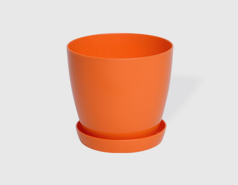 Гладка саксия в оранжев цвят LALA гланц Ф18см НА ПРОМО ЦЕНА В ОТСТЪПКА С МНЕНИЯ, РЕВЮТА, ОТЗИВИ И ПРЕПОРЪКИ от Saksiika.com