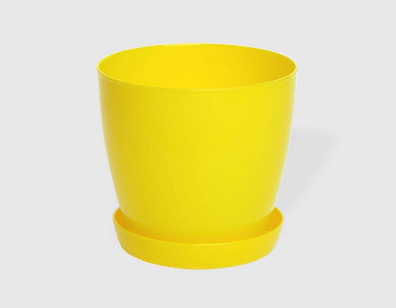 Гладка саксия в жълт цвят LALA гланц Ф22см НА ПРОМО ЦЕНА В ОТСТЪПКА С МНЕНИЯ, РЕВЮТА, ОТЗИВИ И ПРЕПОРЪКИ от Saksiika.com