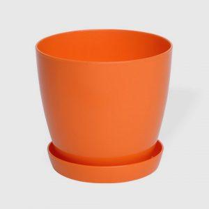 Гладка саксия в оранжев цвят LALA гланц Ф22см НА ПРОМО ЦЕНА В ОТСТЪПКА С МНЕНИЯ, РЕВЮТА, ОТЗИВИ И ПРЕПОРЪКИ от Saksiika.com