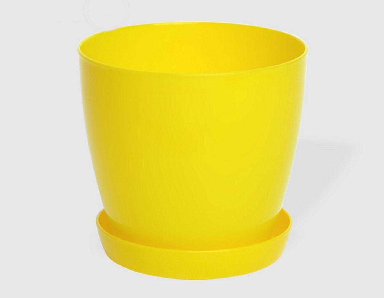 Гладка саксия в жълт цвят LALA гланц Ф28см НА ПРОМО ЦЕНА В ОТСТЪПКА С МНЕНИЯ, РЕВЮТА, ОТЗИВИ И ПРЕПОРЪКИ от Saksiika.com