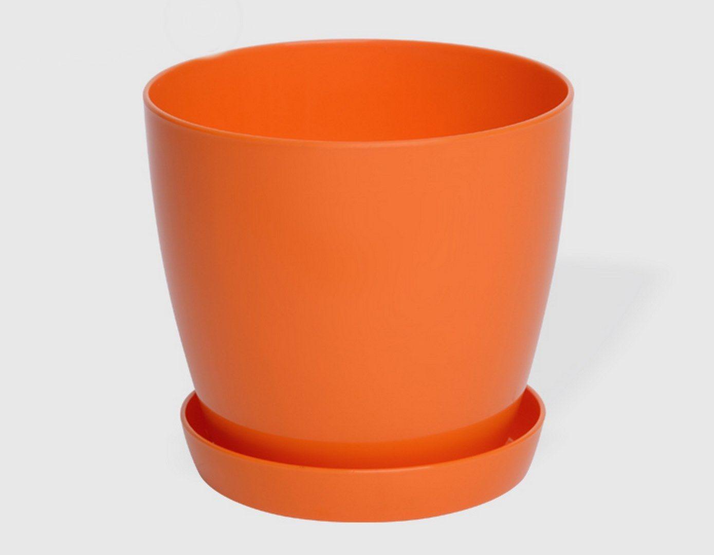 Гладка саксия в оранжев цвят LALA гланц Ф28см НА ПРОМО ЦЕНА В ОТСТЪПКА С МНЕНИЯ, РЕВЮТА, ОТЗИВИ И ПРЕПОРЪКИ от Saksiika.com