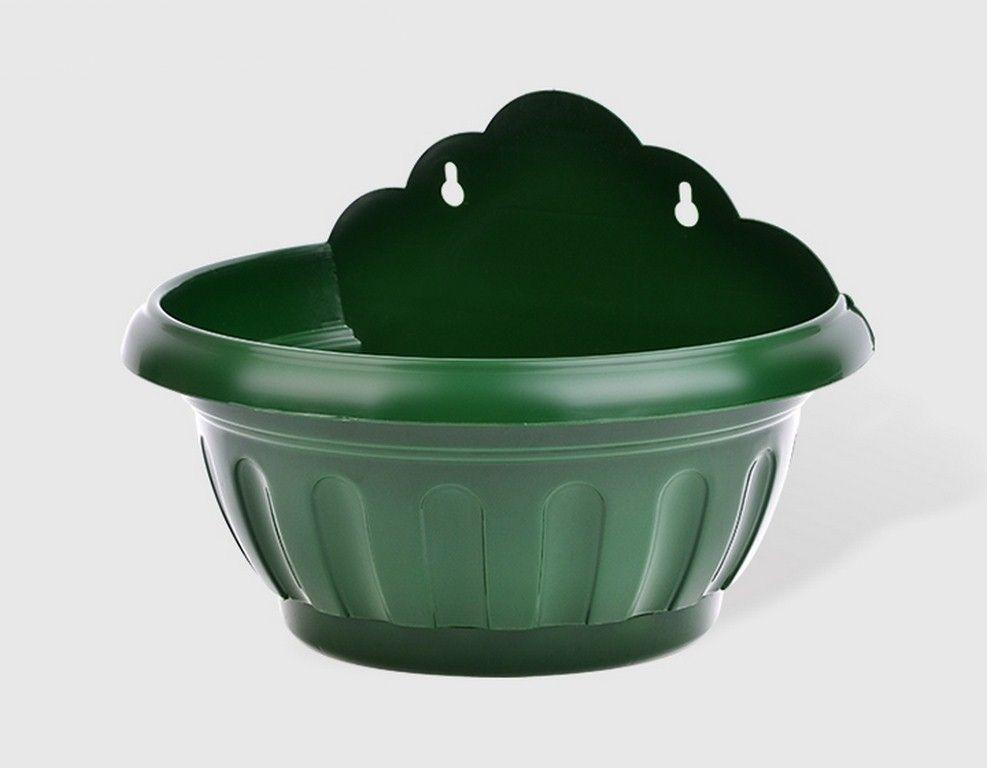 Стенна саксия в зелен цвят, голяма, KOV НА ПРОМО ЦЕНА В ОТСТЪПКА С МНЕНИЯ, РЕВЮТА, ОТЗИВИ И ПРЕПОРЪКИ от Saksiika.com