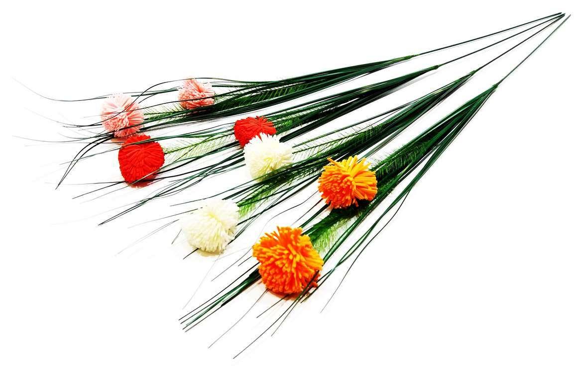 Изкуствено цвете/тревичка с две цветенца 60 см на Промо Цена с Бърза Доставка, Мнения, Препоръки, Клиентски Ревюта и Отзиви от Saksiika.com
