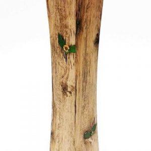 Дървена ваза с цвете Н58см/11х11см на Промо Цена с Бърза Доставка, Мнения, Препоръки, Клиентски Ревюта и Отзиви от Saksiika.com
