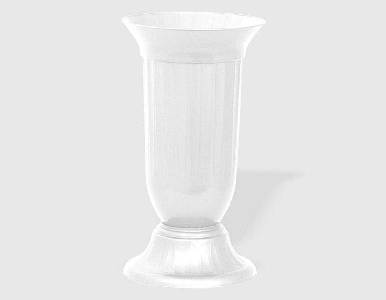 Малка ваза от пвц в бял цвят KOV на Промо Цена с Бърза Доставка, Мнения, Препоръки, Клиентски Ревюта и Отзиви от Saksiika.com
