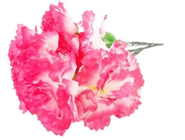 Изкуствено цвете 3-ка Божур в два цвята на Промо Цена с Бърза Доставка, Мнения, Препоръки, Клиентски Ревюта и Отзиви от Saksiika.com