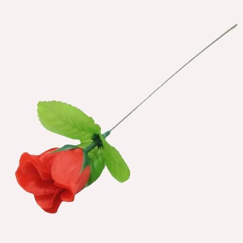 Изкуствено цвете Роза 28 см на Промо Цена с Бърза Доставка, Мнения, Препоръки, Клиентски Ревюта и Отзиви от Saksiika.com