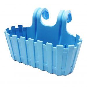 Сандъче за цветя пвц за закачане 3.5 л Planet lux в син цвят на Промо Цена с Бърза Доставка, Мнения, Препоръки, Клиентски Ревюта и Отзиви от Saksiika.com