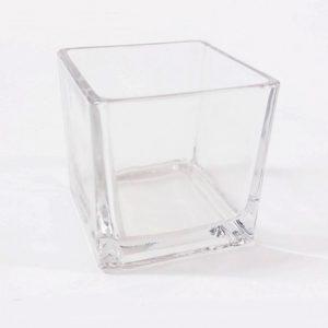 Квадратна ваза от стъкло 8x8x80см на Промо Цена с Бърза Доставка, Мнения, Препоръки, Клиентски Ревюта и Отзиви от Saksiika.com