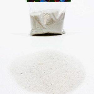 Пясък за декорация в бял цвят 400 грама на промо цена, с отстъпка и мнения, ревюта, препоръки и отзиви от saksiika.com