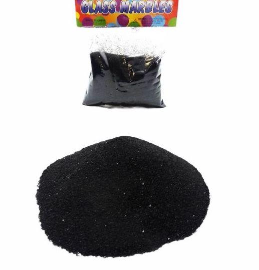 Пясък за декорация в черен цвят 400 грама на промо цена, с отстъпка и мнения, ревюта, препоръки и отзиви от saksiika.com