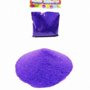 Пясък за декорация в лилав цвят 400 грама на промо цена, с отстъпка и мнения, ревюта, препоръки и отзиви от saksiika.com