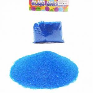 Пясък за декорация в син цвят 400 грама на промо цена, с отстъпка и мнения, ревюта, препоръки и отзиви от saksiika.com