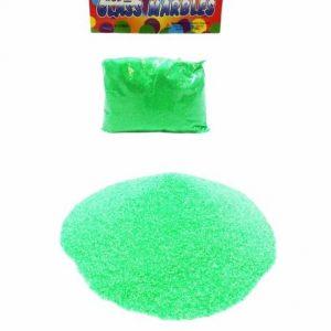 Пясък за декорация в зелен цвят 400 грама на промо цена, с отстъпка и мнения, ревюта, препоръки и отзиви от saksiika.com