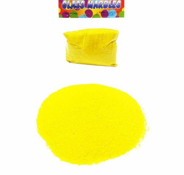Пясък за декорация в жълт цвят 400 грама на промо цена, с отстъпка и мнения, ревюта, препоръки и отзиви от saksiika.com