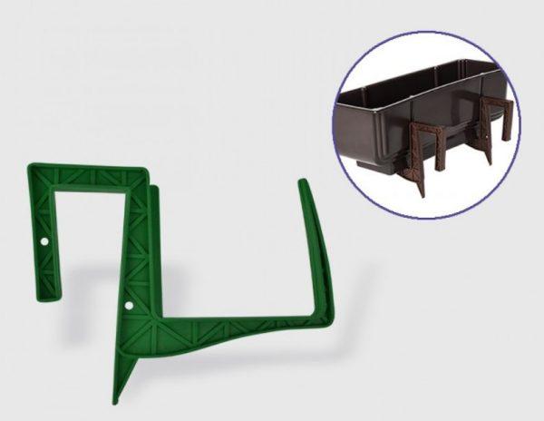 Стойка за сандъче от пвц в зелен цвят на промо цена, с отстъпка и мнения, ревюта, препоръки и отзиви от saksiika.com