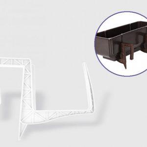 Стойка за сандъче от пвц в бял цвят на промо цена, с отстъпка и мнения, ревюта, препоръки и отзиви от saksiika.com